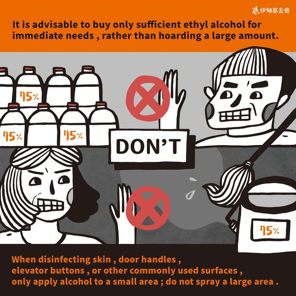 beware while using ethyl alcohol