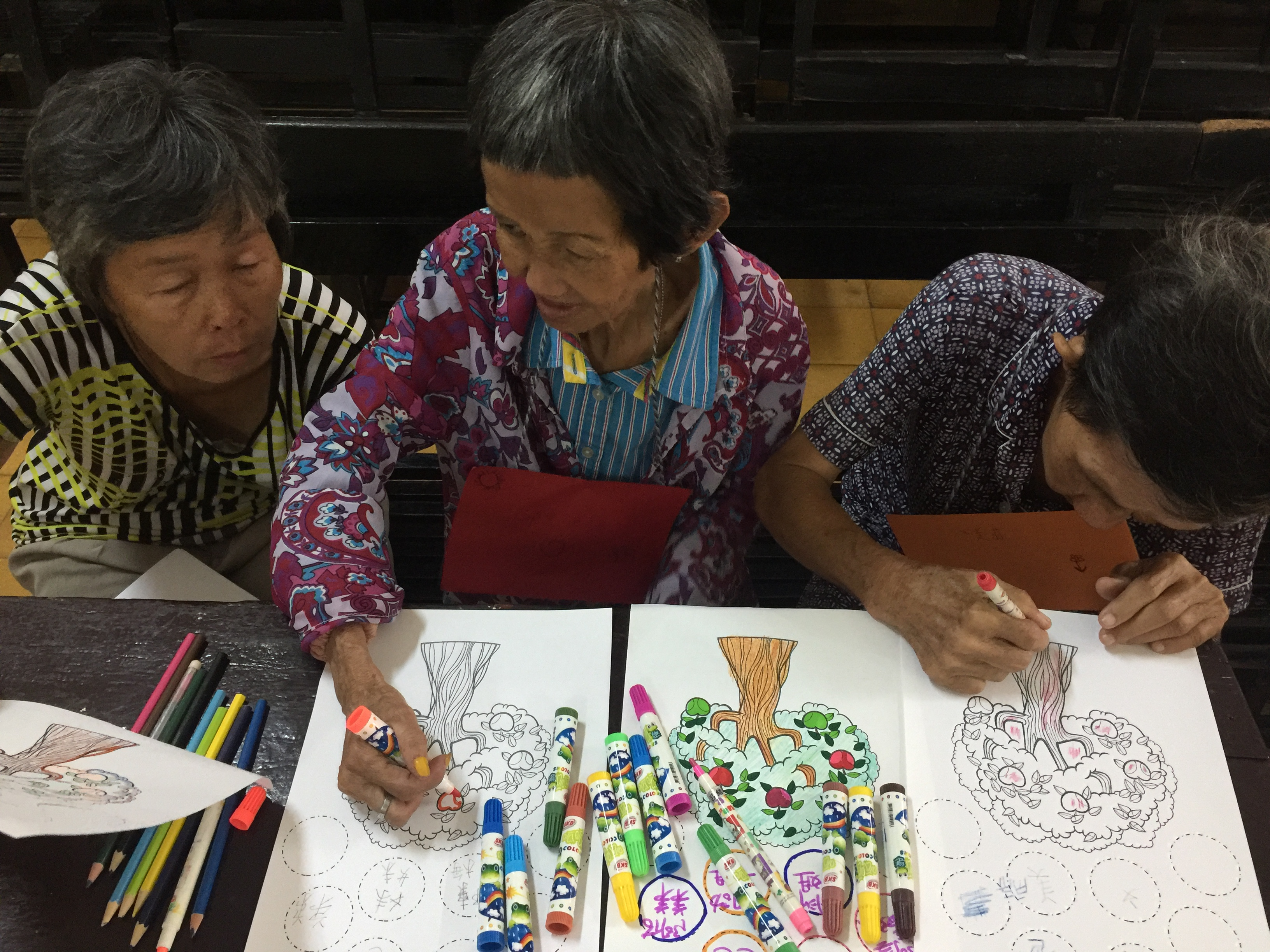 group painting